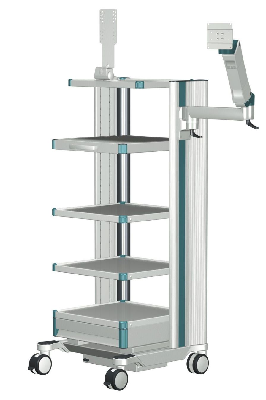 Medical monitor support arm / wall-mounted flexion-port ITD GmbH