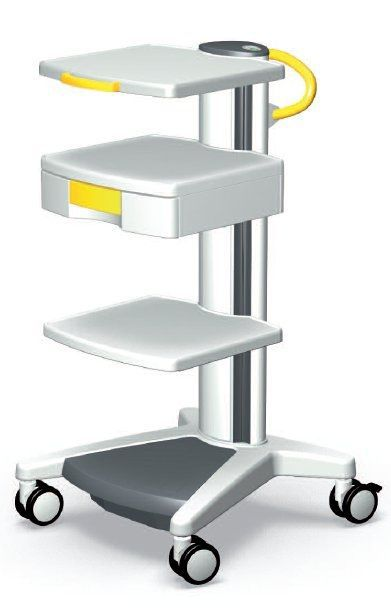 Medical device trolley / 3-tray pro-cart ITD GmbH