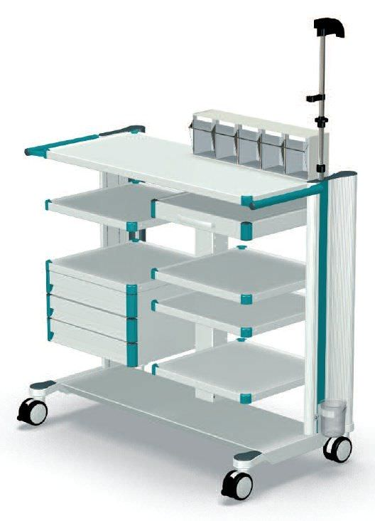 Endoscopy trolley endo-cart ITD GmbH
