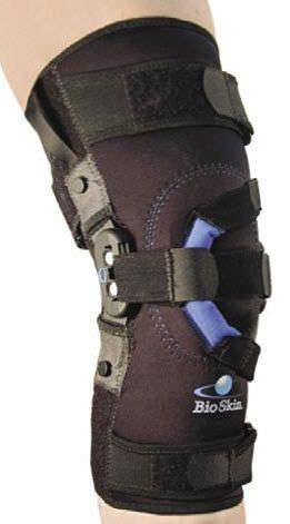 Knee orthosis (orthopedic immobilization) / patella stabilisation / articulated BioSkin® Q Lok Össur