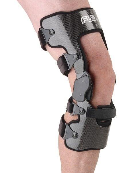 Knee orthosis (orthopedic immobilization) / knee ligaments stabilisation / articulated Flex® Össur