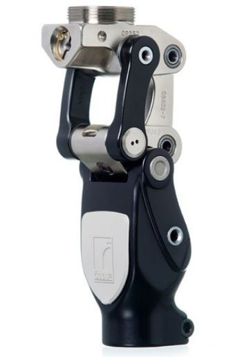 Prosthetic knee joint (lower extremity) / manual lock / with stance control / polycentric Total Knee® 1900 Össur