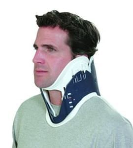 Emergency cervical collar with tracheal opening / adjustable-size / 1-piece Patriot® Össur