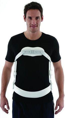 Posture corrective orthosis (orthopedic immobilization) / vertebral hyperextention / with 3-point base system MP45 Össur
