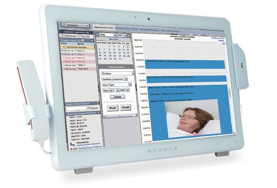 "Medical panel PC 21.5"" | POC-W22A-H81 IEI"