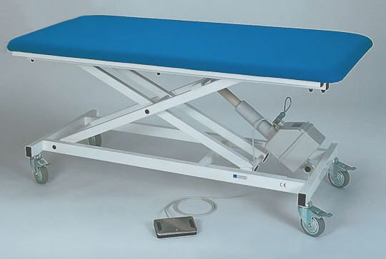 Electrical examination table / height-adjustable / on casters / 1-section 2110-00 K.H. Dewert