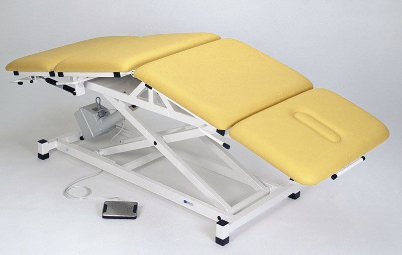 Electrical examination table / height-adjustable / 4-section 2895-00 K.H. Dewert