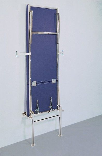 Folding examination table / fixed / 2-section / wall-mounted 126-01 K.H. Dewert