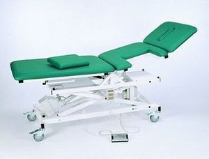Echocardiography examination table / electrical / height-adjustable / 3-section 2690 Series K.H. Dewert