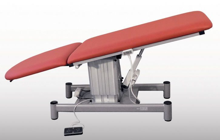 Electrical examination table / height-adjustable / 2-section 6050-04 K.H. Dewert