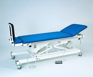 Electrical tilt table / 1-section / height-adjustable / on casters 90-00 K.H. Dewert