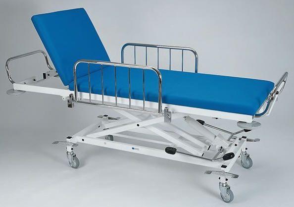 Emergency stretcher trolley / height-adjustable / hydraulic / 2-section 2418-00, 2450-00 K.H. Dewert