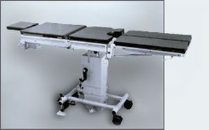 Universal operating table / mechanical / on casters Coburg Exaflex 6115 Jörg & Sohn