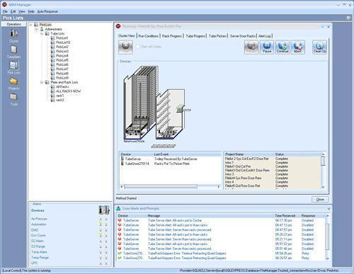 Control software / sample tracking / laboratory ASM Manager Hamilton Company
