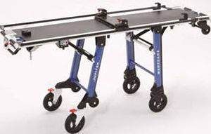 Emergency stretcher trolley / height-adjustable / mechanical / 2-section 250 kg | RIT880A4 Jupiter Kartsana Medical