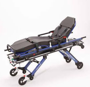 Emergency stretcher trolley / self-loading / height-adjustable / mechanical 250 kg | RIT880A2 Jupiter Kartsana Medical