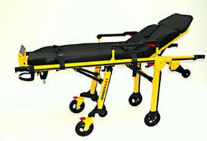 Emergency stretcher trolley / height-adjustable / mechanical / 2-section RIT250 Kartsana Medical