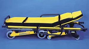 Emergency stretcher trolley / height-adjustable / pneumatic / 3-section RIT790 Kartsana Medical