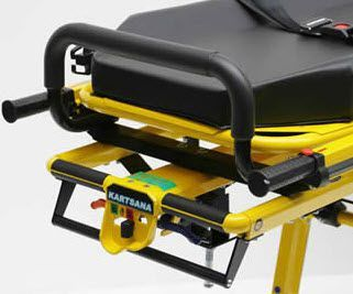 Emergency stretcher trolley / self-loading / height-adjustable / mechanical 250 kg | Jupiter Compact C4 Kartsana Medical