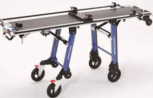 Transport stretcher trolley / height-adjustable / mechanical / 1-section TG880 JUPITER Kartsana Medical