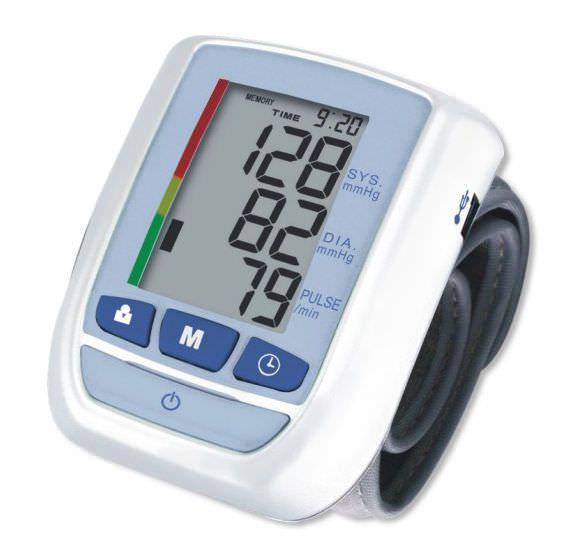 Automatic blood pressure monitor / electronic / wrist KP-7050 K-jump Health
