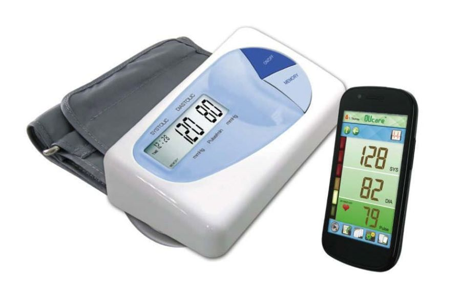 Automatic blood pressure monitor / electronic / arm / with speaking mode KP-6827 K-jump Health