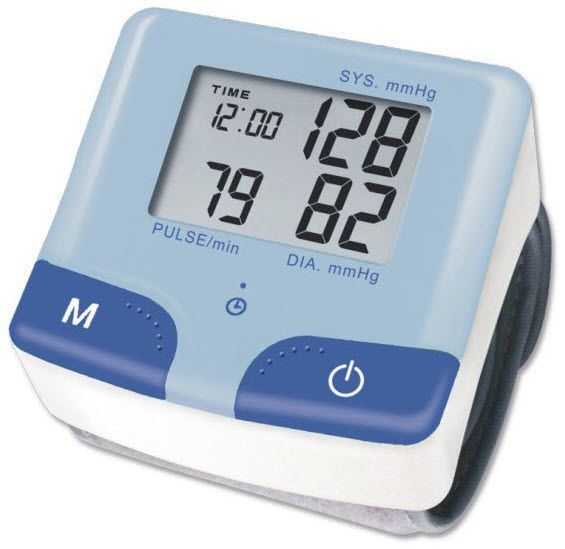 Automatic blood pressure monitor / electronic / wrist KP-6210 K-jump Health