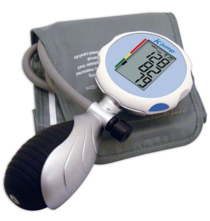 Semi-automatic blood pressure monitor / electronic / arm KP-7920 K-jump Health