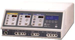 Bipolar coagulation HF electrosurgical unit / bipolar cutting / monopolar cutting / monopolar coagulation MEG 1 Kavandish System