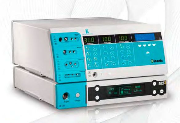 Electrosurgical unit / argon plasma coagulation / bipolar cutting / monopolar cutting / monopolar coagulation Iconic IS410S Kavandish System