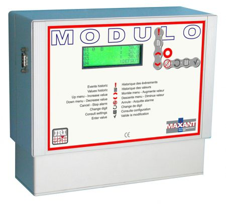 Temperature regulator data logger MODULO JRI