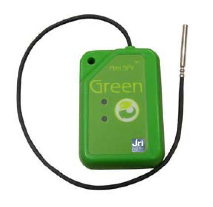 Temperature regulator data logger / wireless Mini SPY RF Green JRI