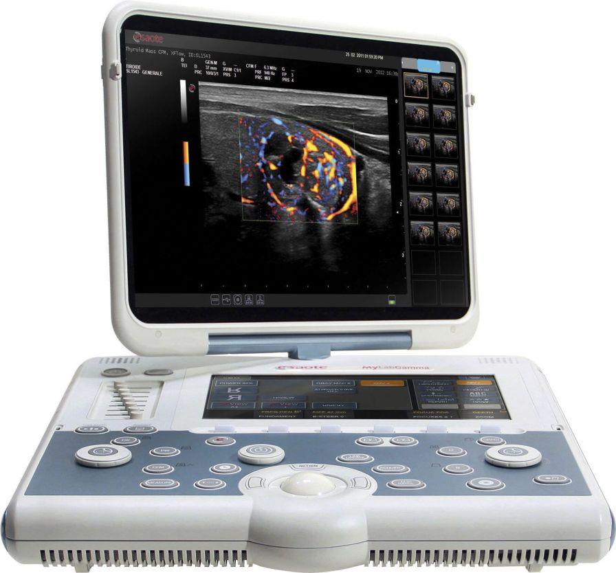 Portable ultrasound system / for multipurpose ultrasound imaging MyLab™Gamma ESAOTE