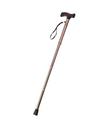 T handle walking stick / height-adjustable / folding YU830 Jiangsu Yuyue Medical Equipment & Supply Co., Ltd.