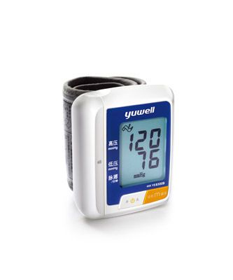 Automatic blood pressure monitor / electronic / wrist 60 - 230 mmHg | YE8300B Jiangsu Yuyue Medical Equipment & Supply Co., Ltd.
