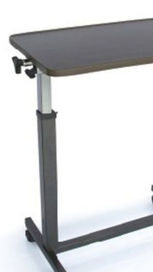 Height-adjustable overbed table / on casters YU611 Jiangsu Yuyue Medical Equipment & Supply Co., Ltd.