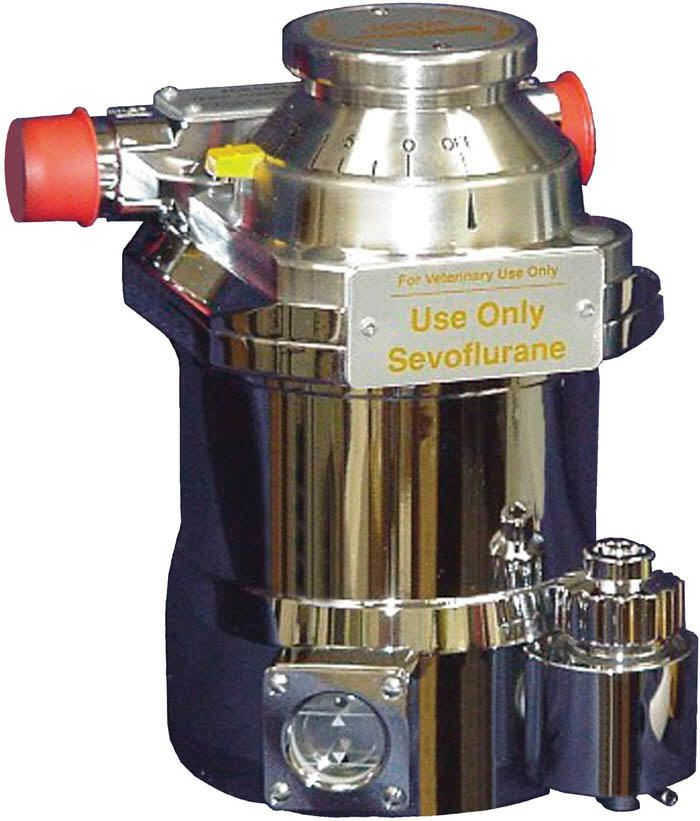 Anesthetic gas evaporator / veterinary J0562A Jorgensen Laboratories