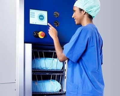Medical autoclave / compact / with steam generator 136 - 206 L   HS44 SERIES Getinge Infection Control