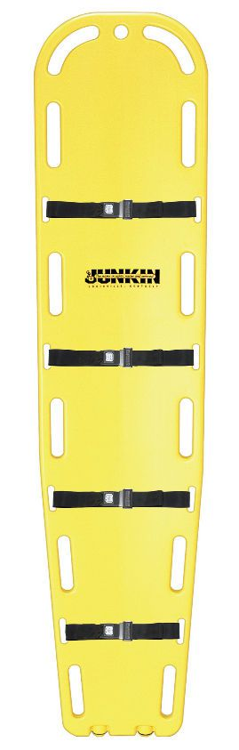 Plastic backboard stretcher JSA-365 Junkin Safety Appliance Company