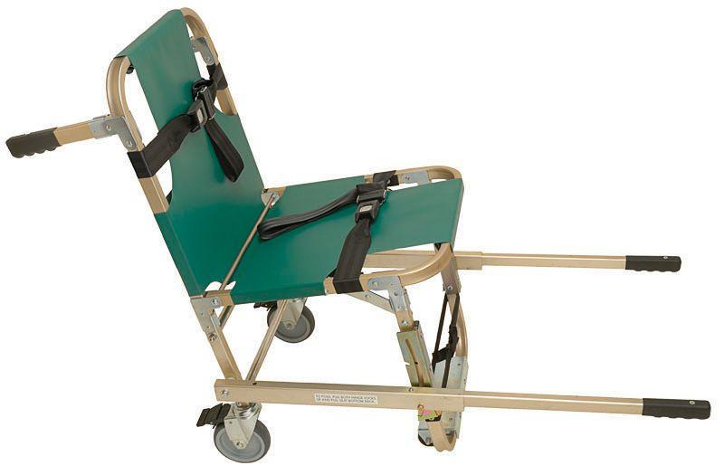 Folding patient transfer chair JSA-800-EHW Junkin Safety Appliance Company