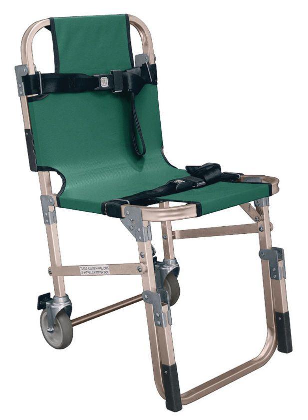 Folding patient transfer chair JSA-800 Junkin Safety Appliance Company