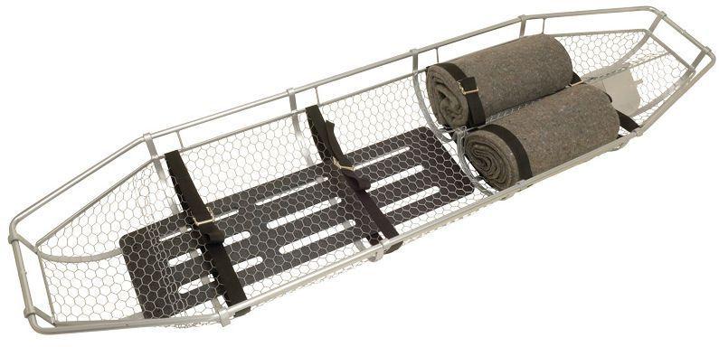 Basket stretcher / metal / 1-section JSA-333-A Junkin Safety Appliance Company
