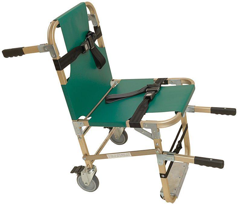 Folding patient transfer chair JSA-800-W Junkin Safety Appliance Company