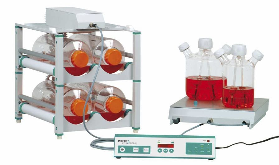 Laboratory mixer / laboratory cell culture / roller / multi-tier CELLROLL Integra Biosciences AG
