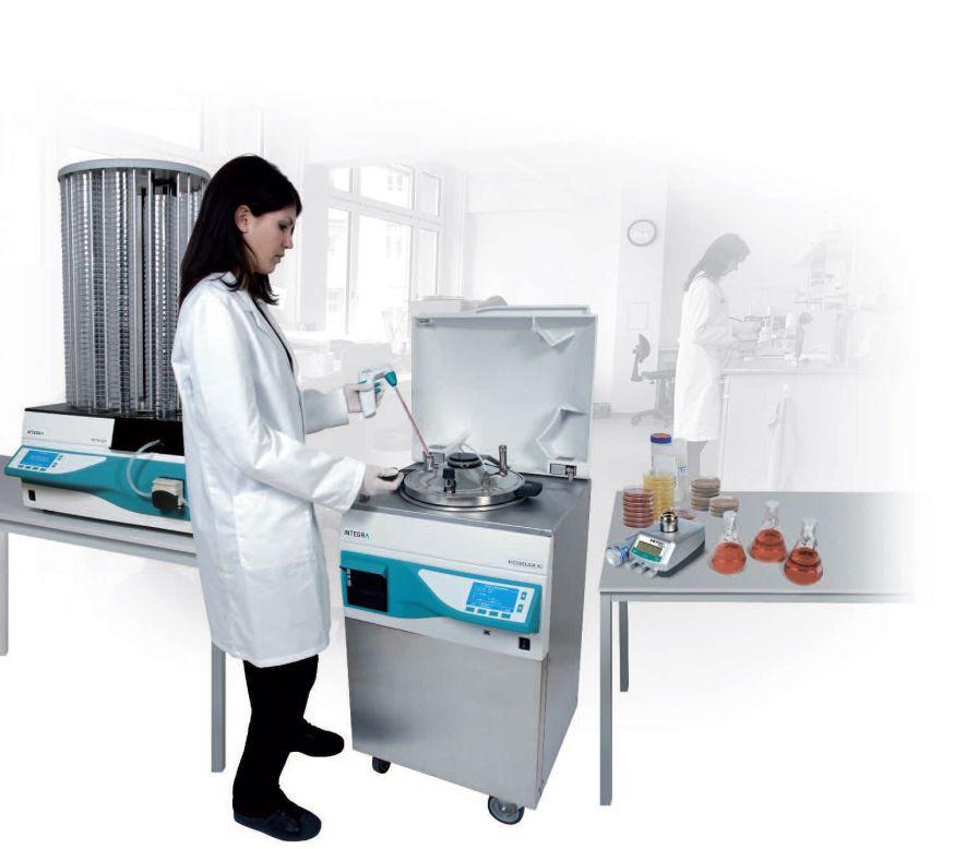 Automatic culture media preparation system MEDIACLAVE 10 / MEDIACLAVE 30 Integra Biosciences AG
