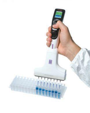 Electronic micropipette / multichannel VOYAGER Integra Biosciences AG