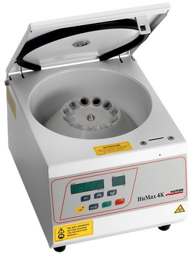 Laboratory centrifuge / bench-top 5 000 rpm | HuMax 4K HUMAN