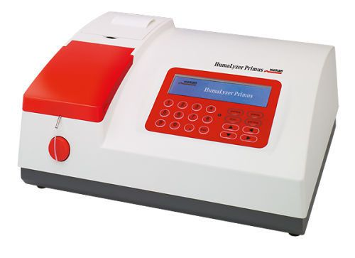 Semi-automatic biochemistry analyzer HumaLyzer Primus HUMAN