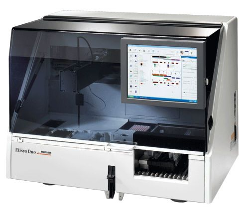 Automatic ELISA analyzer Elisys Duo HUMAN
