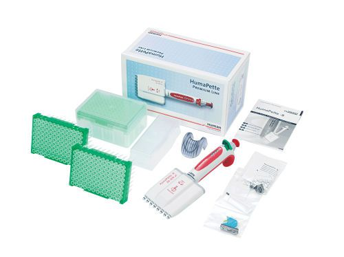 Mechanical micropipette / variable volume / with ejector / multichannel HumaPette Premium HUMAN